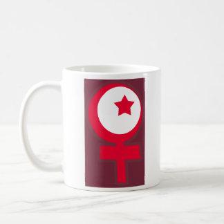 Caneca De Café Símbolo islâmico do feminismo