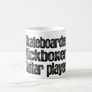 Caneca De Café Skater, Kickboxer, guitarrista