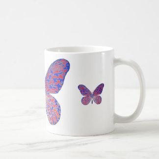 Caneca De Café Sonhos da borboleta