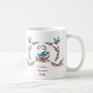 Caneca De Café Teacup da noiva da flor de cerejeira A59