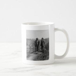 Caneca De Café Teddy Roosevelt e John Muir em Yosemite
