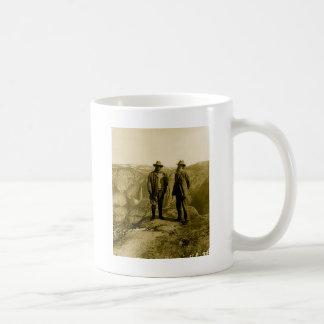 Caneca De Café Teddy Roosevelt e John Muir no ponto da geleira