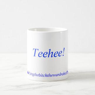 Caneca De Café Teehee! , http://kellysthelyingthebitchthewardro..