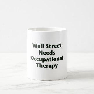 Caneca De Café Terapia ocupacional das necessidades de Wall