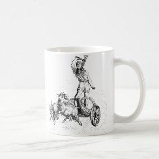 Caneca De Café Thor em seu Chariot
