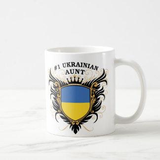 Caneca De Café Tia ucraniana do número um