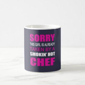 Caneca De Café Tomado por um cozinheiro chefe