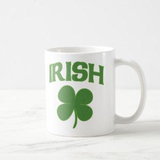 Caneca De Café Trevo irlandês