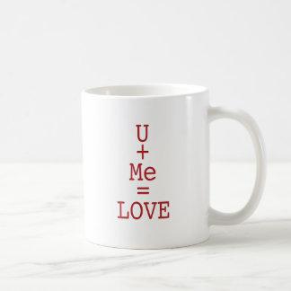 Caneca De Café U+AMOR do me=