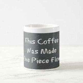 Caneca De Café Um café do fluxo da parte