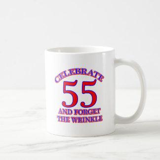Caneca De Café Um design de 55 aniversários
