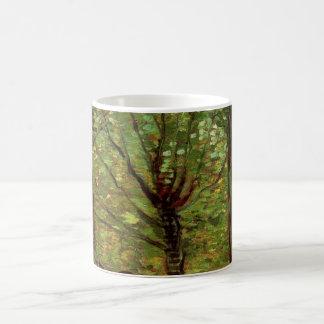 Caneca De Café Undergrowth das árvores de Van Gogh,