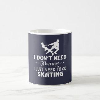 Caneca De Café Vá patinar