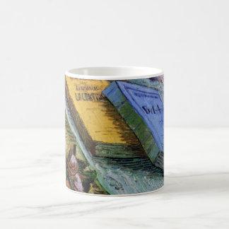 Caneca De Café Van Gogh, estatueta do emplastro, um rosa e duas