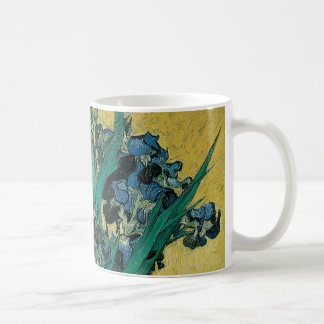 Caneca De Café Vaso com as íris por Vincent van Gogh, arte do