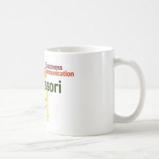 Caneca De Café Versão humana 1 da arte da palavra das tendências