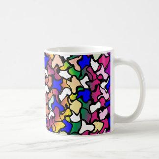Caneca de café vibrante trémulo dos azulejos