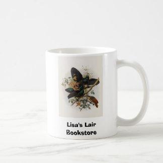 Caneca De Café Victoriae de Ptiloris - Rifle-pássaro da rainha