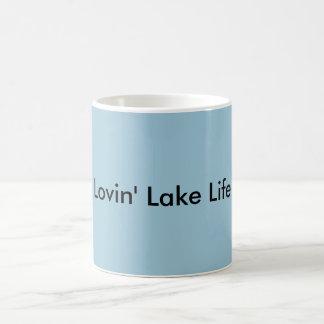 Caneca De Café Vida do lago Lovin