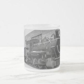 Caneca De Café Vidro Jateado Motor de Detroit Edison # 202