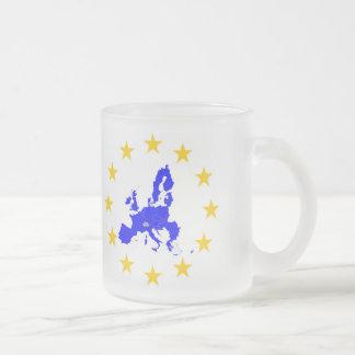 Caneca De Café Vidro Jateado União européia