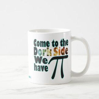 Caneca De Café Vindo ao lado do Dork, nós temos o Pi