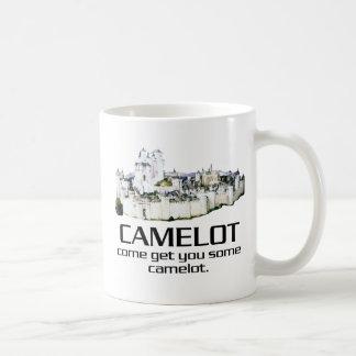 Caneca De Café Vindo obtenha-lhe algum Camelot.