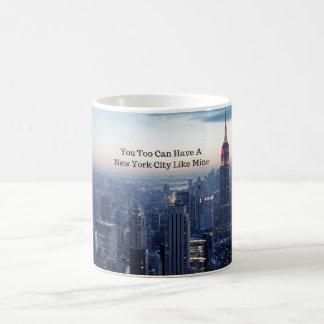 Caneca De Café Você demasiado pode ter uma Nova Iorque como meus