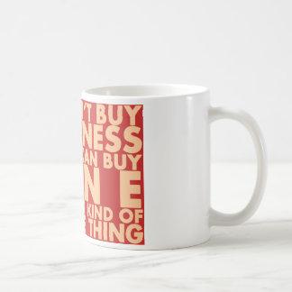 Caneca De Café Você não pode comprar a felicidade, mas você pode