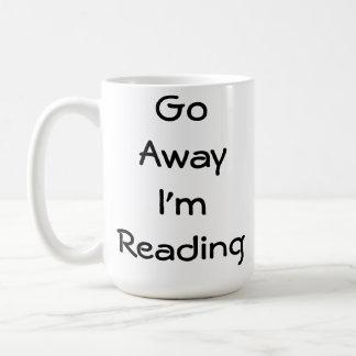 Caneca De Café Vou afastado eu estou lendo