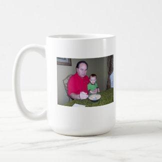 Caneca De Café Vovô e bebê A