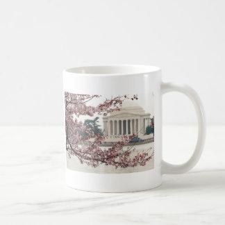 Caneca De Café Washington DC da flor de cerejeira