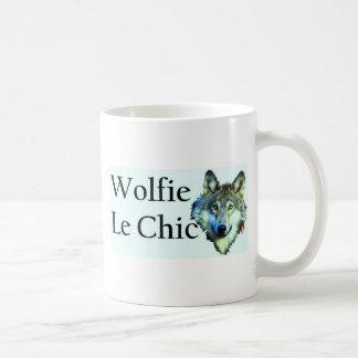 Caneca De Café Wolfie Le Chique
