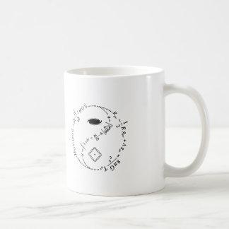 Caneca De Café Yin Yang da física [LUZ]