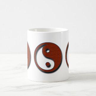 Caneca De Café Yin Yang por Shirley Taylor