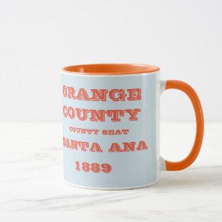 Caneca de Califórnia do Condado de Orange