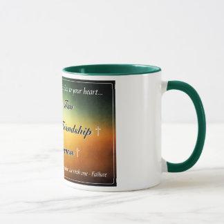 """Caneca De """"caneca de café 11oz verde cinco f"""""""