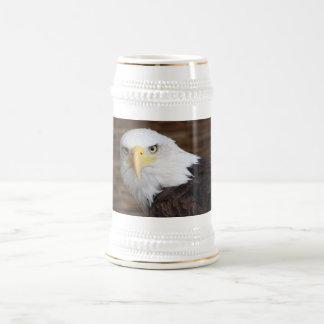 Caneca De Cerveja A águia americana impressionante