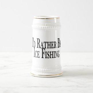Caneca De Cerveja A preferencialmente seja pesca do gelo