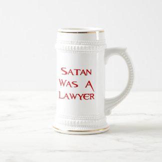Caneca De Cerveja A satã era um advogado