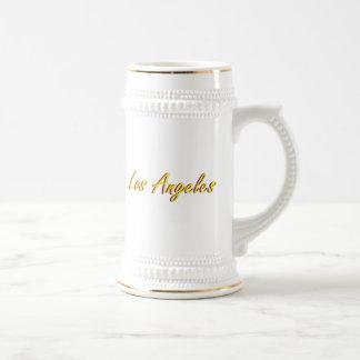 Caneca De Cerveja Amarelo e roxo de Los Angeles