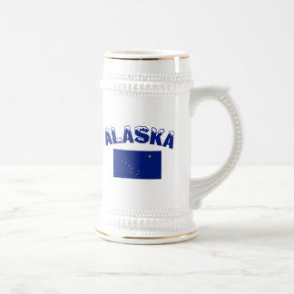 Caneca De Cerveja Bandeira de Alaska