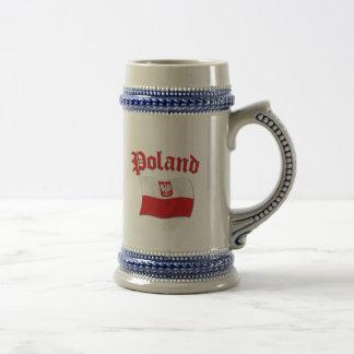 Caneca De Cerveja Bandeira do Polônia