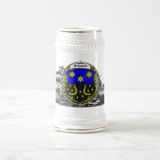 Caneca De Cerveja Braços da família de Schmidt (Sarre-Rhine)