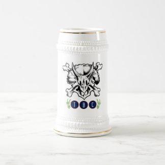 Caneca de cerveja branca da cerveja de