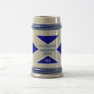 Caneca De Cerveja Branco clássico de 325 ml sim pelo highsaltire