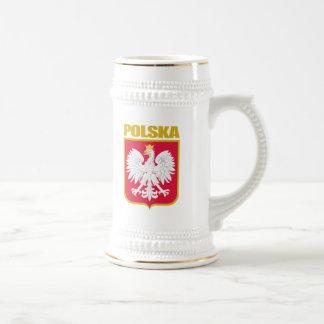 Caneca De Cerveja COA de Polska (Polônia)