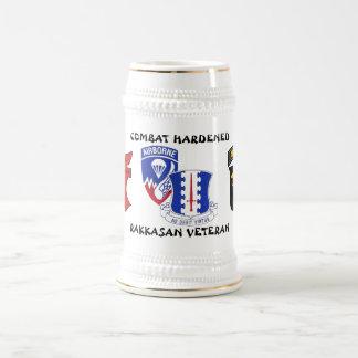 Caneca De Cerveja Combate do regimento de infantaria de Rakkasan