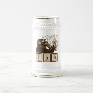 Caneca De Cerveja Divertimento descoberto macaco da química