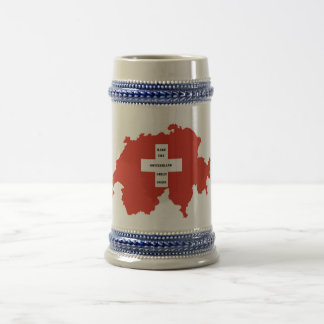 Caneca De Cerveja Make switzerland Great again